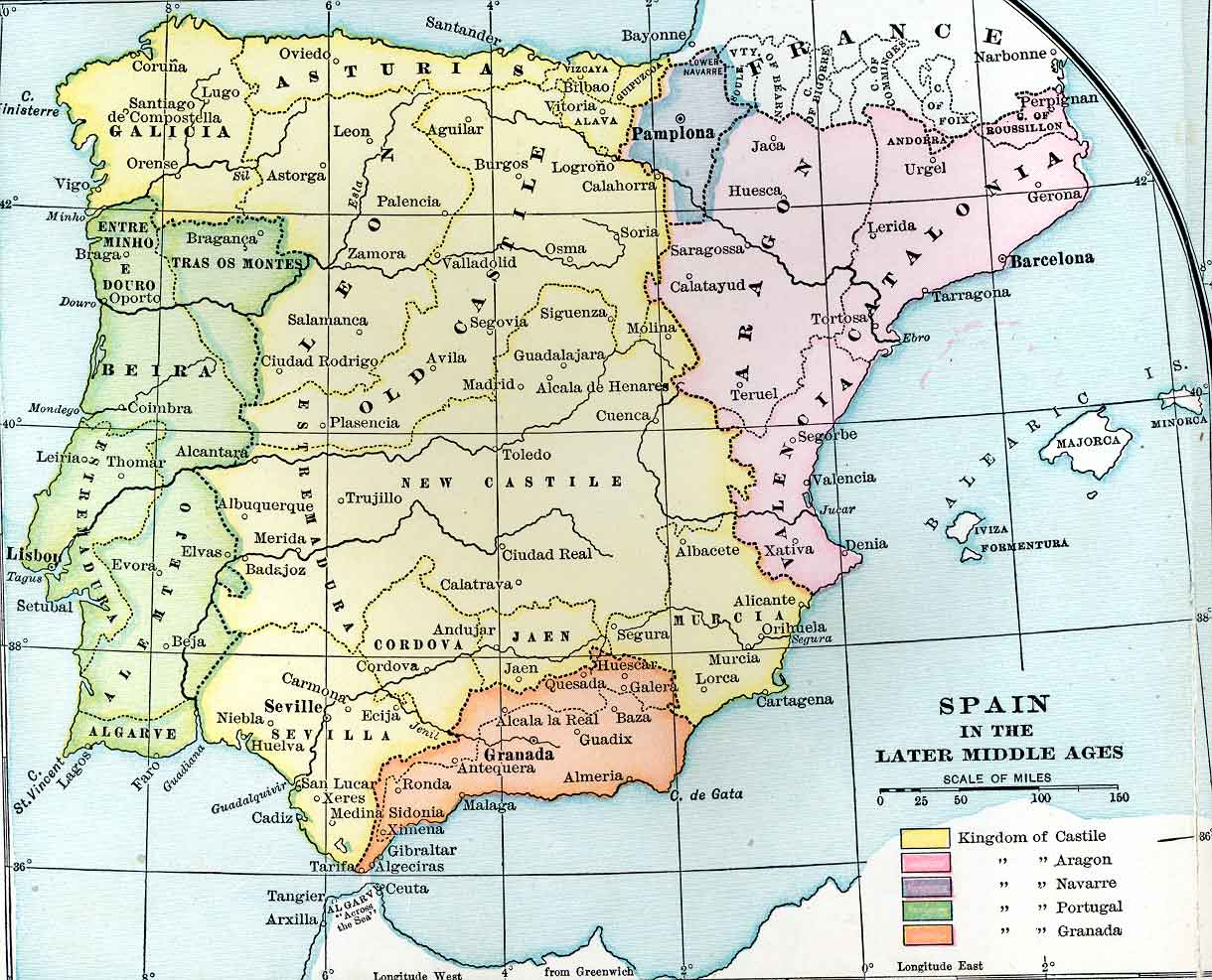 Spain in the Later Middle Ages