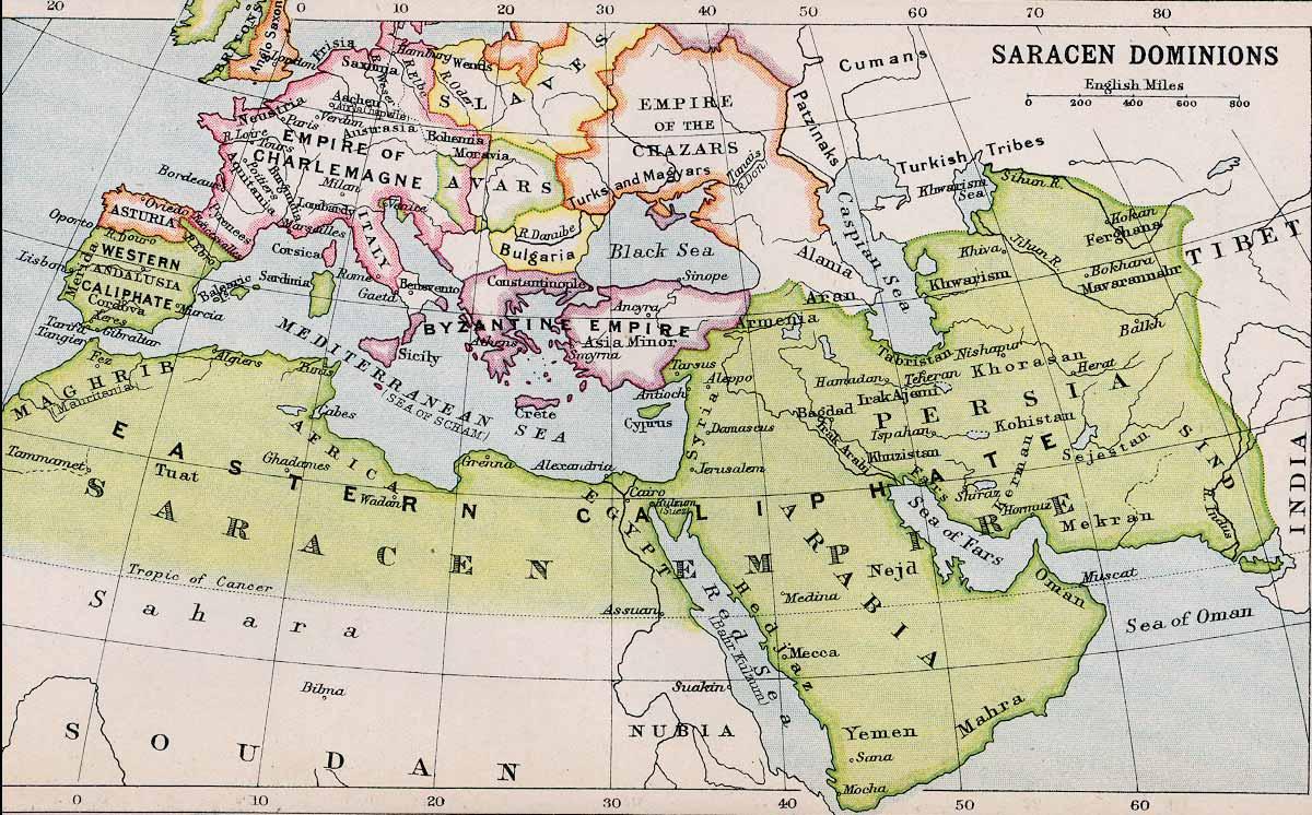Saracen Dominions