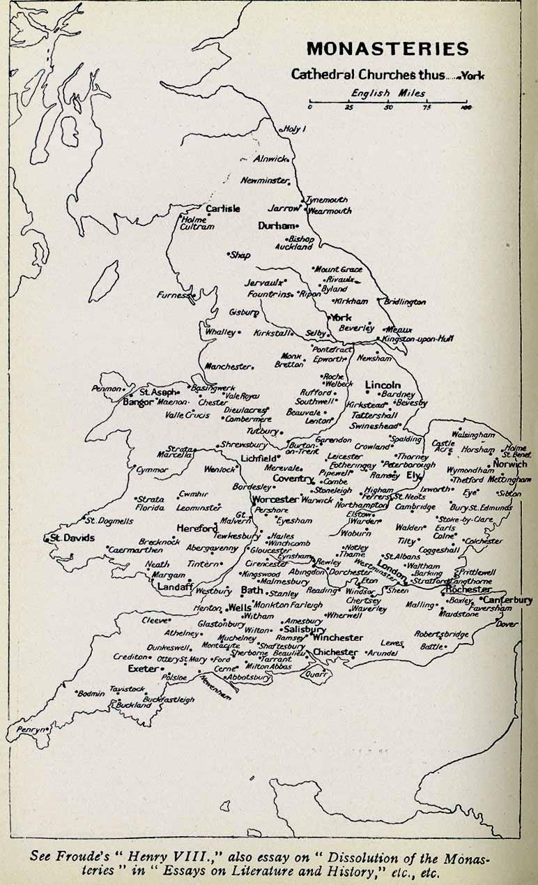Monasteries of England