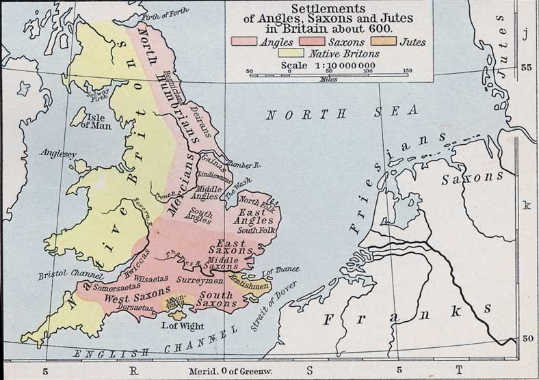 Germanic Settlements in Britain