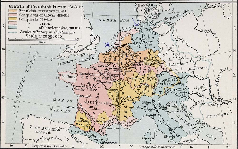 Growth of Frankish Power