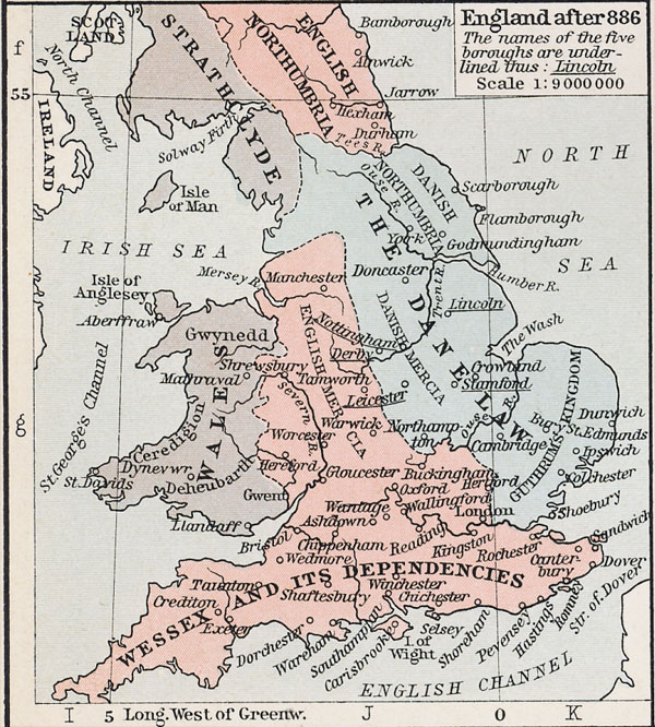 England after 802